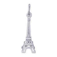Rembrandt Eifffel Tower Charm, Sterling Silver