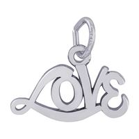 Rembrandt Love Charm, Sterling Silver