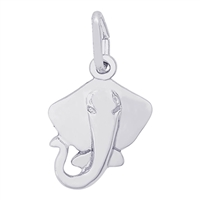 Rembrandt Stingray Charm, Sterling Silver