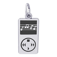 Rembrandt IPOD - MP3 Player Charm, Sterling Silver