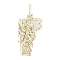Rembrandt Burlington Charm, Gold Plated Silver