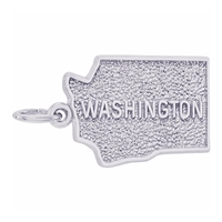 Rembrandt Washington Charm, Sterling Silver