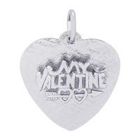Rembrandt Be My Valentine Charm, Sterling Silver