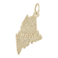 Rembrandt Maine Charm, 10K Yellow Gold