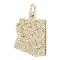 Rembrandt Arizona Charm, Gold Plated Silver