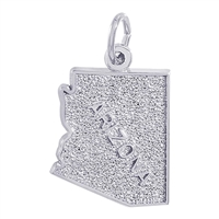 Rembrandt Arizona Charm, 14K White Gold