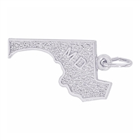 Rembrandt Maryland Charm, 14K White Gold