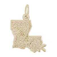 Rembrandt Louisiana Charm, Gold Plated Silver