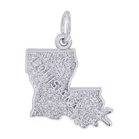 Rembrandt Louisiana Charm, 14K White Gold