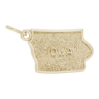 Rembrandt  Iowa Charm, Gold Plated Silver