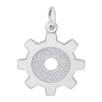 Rembrandt Engineer Charm, Sterling Silver
