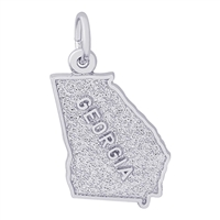 Rembrandt Georgia Charm, Sterling Silver
