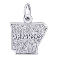 Rembrandt Arkansas Charm, Sterling Silver