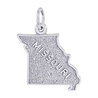 Rembrandt Missouri Charm, Sterling Silver