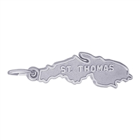 Rembrandt St. Thomas Charm, Sterling Silver