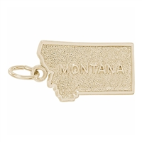 Rembrandt Montana Charm, Gold Plated Silver