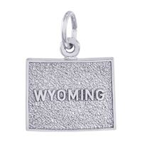 Rembrandt Wyoming Charm, 14K White Gold