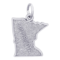Rembrandt Minnesota Charm, Sterling Silver