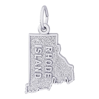 Rembrandt Rhode Island Charm, Sterling Silver