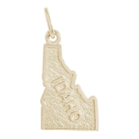 Rembrandt Idaho Charm, 10K Yellow Gold