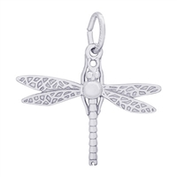 Rembrandt Dragonfly Charm, Sterling Silver