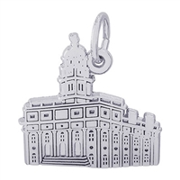 Rembrandt South Carolina Temple Charm, Sterling Silver