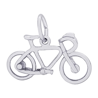 Rembrandt Bicycle Charm, Sterling Silver