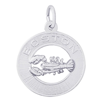 Rembrandt Boston Lobster Charm, Sterling Silver
