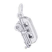 Rembrandt Trailer Charm, Sterling Silver