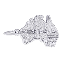 Rembrandt Australia Charm, Sterling Silver