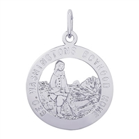 Rembrandt George Washington Home Charm, Sterling Silver