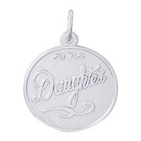 Rembrandt Daughter Charm, Sterling Silver