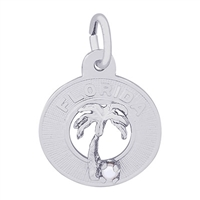 Rembrandt Florida Charm, Sterling Silver