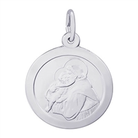 Rembrandt St. Antonio Charm, Sterling Silver