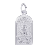 Rembrandt Christmas Charm, Sterling Silver