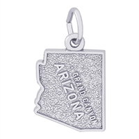 Rembrandt Grand Canyon Charm, Sterling Silver