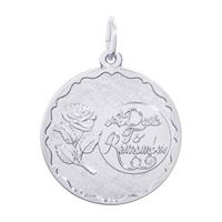 Rembrandt A Date To Remember Charm, Sterling Silver