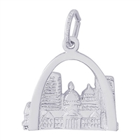 Rembrandt St Louis Charm, Sterling Silver