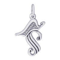 Rembrandt Savannah Charm, Sterling Silver