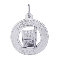 Rembrandt Atlantic City Charm, Sterling Silver