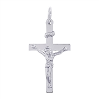 Rembrandt Cross Charm, Sterling Silver