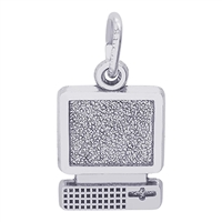 Rembrandt Computer Charm, Sterling Silver