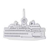 Rembrandt Washington State Ferry Charm, Sterling Silver