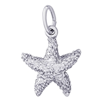 Rembrandt Starfish Charm, Sterling Silver