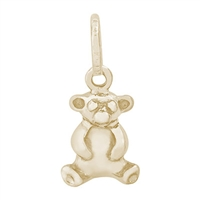 Rembrandt Bear Charm, 10K Yellow Gold