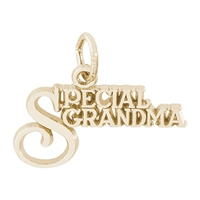 Rembrandt Special Grandma Charm, Gold Plated Silver