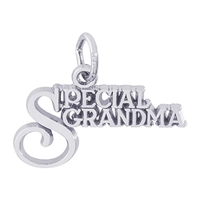 Rembrandt Special Grandma Charm, Sterling Silver