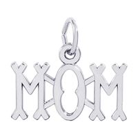 Rembrandt Mom Charm, Sterling Silver