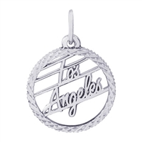 Rembrandt Los Angeles Charm, Sterling Silver