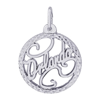 Rembrandt Orlando Charm, Sterling Silver